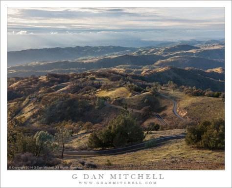 Mount Hamilton Road, Santa Clara Valley