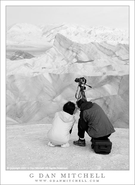 Two Photographers, Zabriskie Point