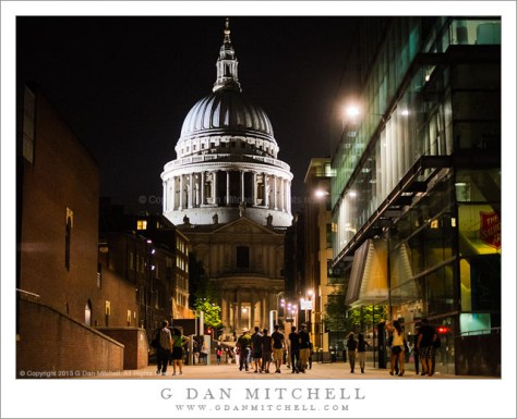 Saint Paul's Cathedral, Night