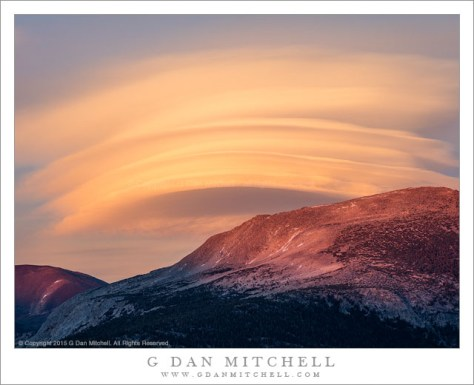 Lenticular Clouds and Ridge