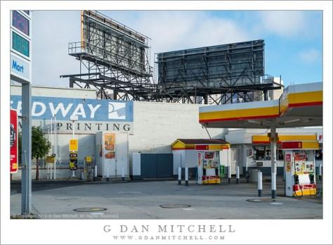 Service Station, Billboards