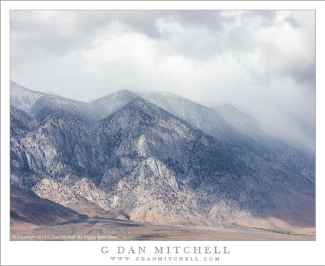 Autumn Snow Storm, Eastern Sierra