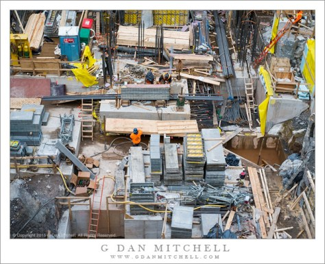 Construction Site, Hudson Yards