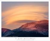 Lenticular Clouds and Ridge