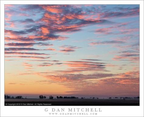 Dawn Clouds, Sacramento Valley