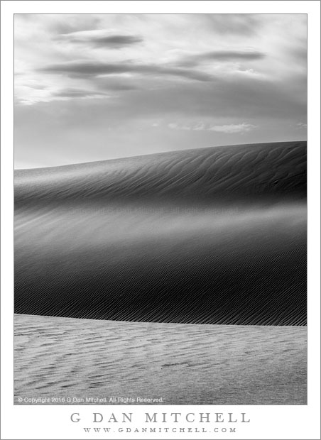 Dunes, Clouds, Morning
