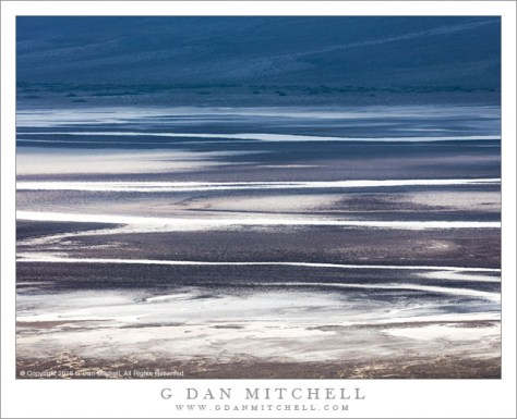 Salt Flats, Evening Shadows