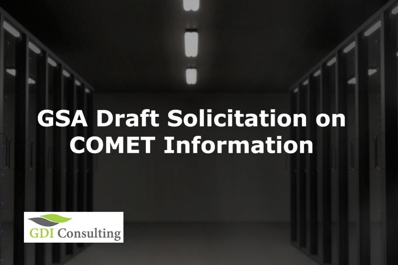 gsa draft solicitation on comet information