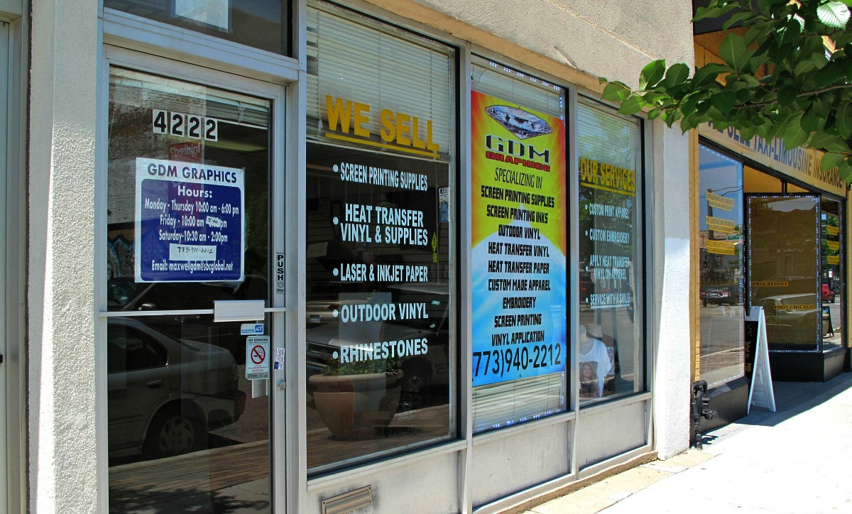 GDM Graphics is conveniently located on 4222 South Archer