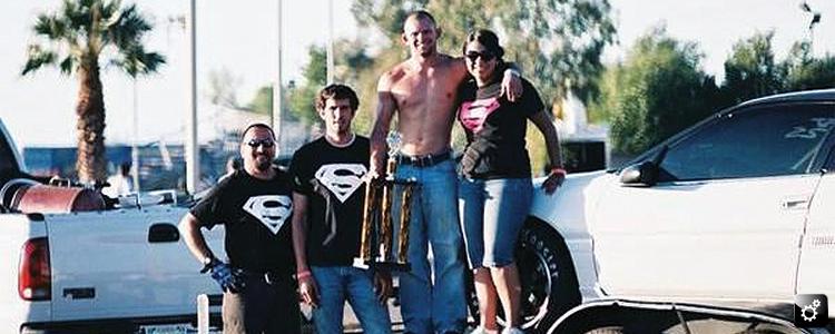 Darren, Giovannia, and the crew.