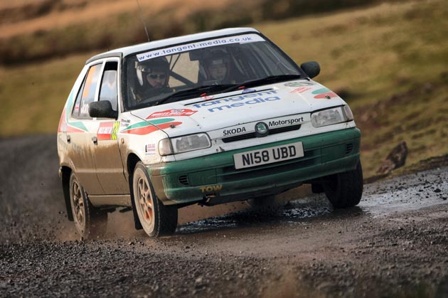 Darren's Skoda at Wales 2006
