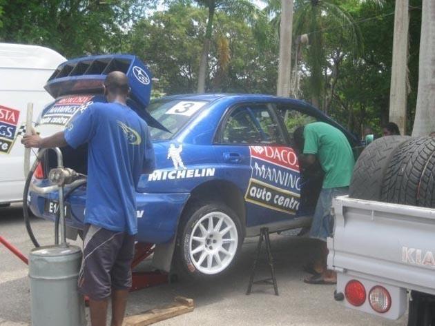 subaru rally car service