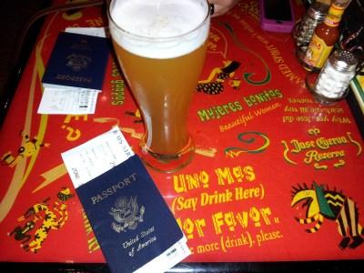 passports & beer