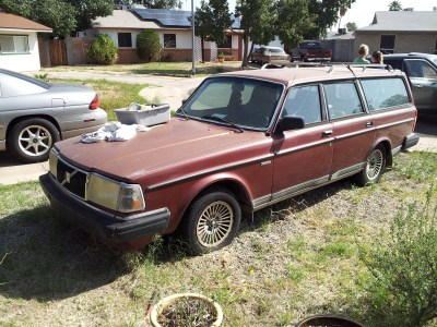 1986 Volvo 245GL - for sale - March 2013