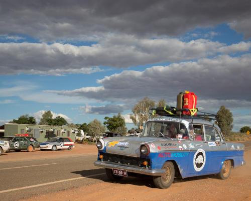 Road trip across the Australian outback, anyone?   image: Dan Murphy