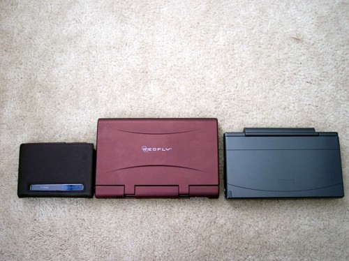 REDFLY Compared to a SmartBook G-138 and HTC Advantage X7510