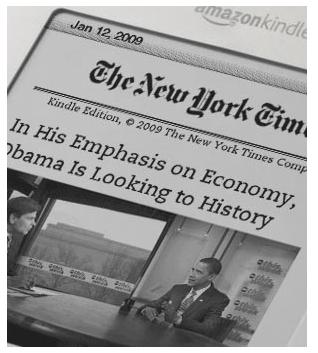 NYTimes Kindle