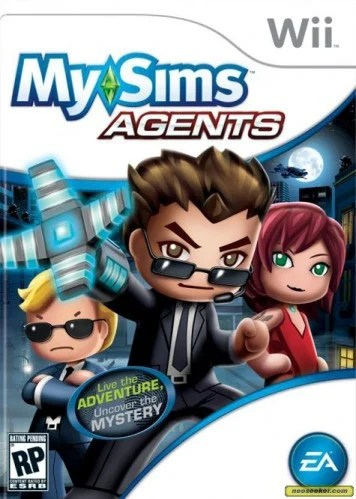 mysims_agents_frontcover