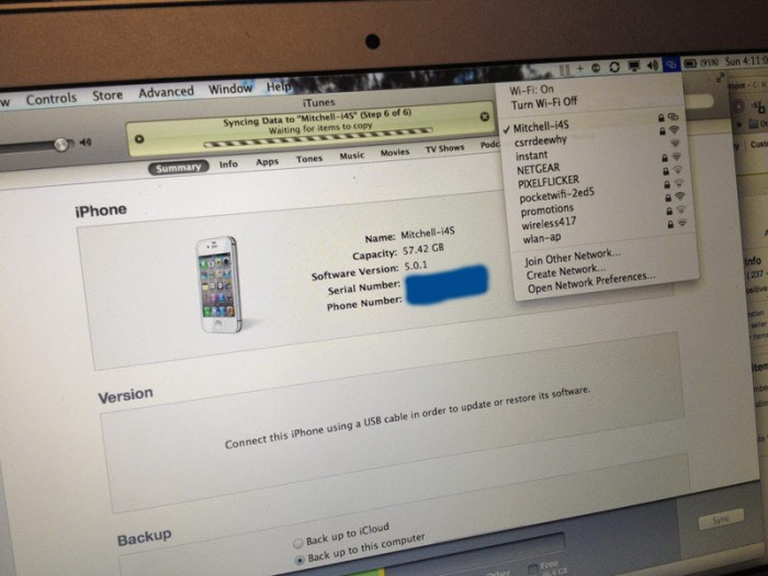 how to connect to hotspot on iphone 5