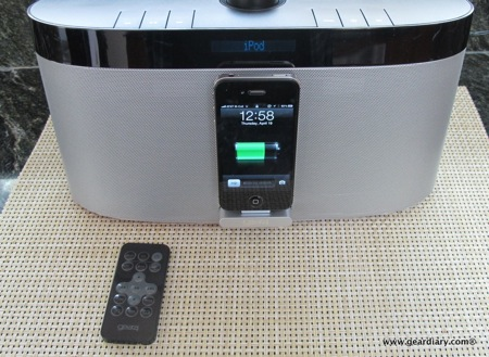 Gear Diary AirZone Series 1 AirPlay Speaker 009