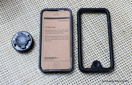 Gear Diary Rokform Rokshield V3 Case for iPhone 5 18