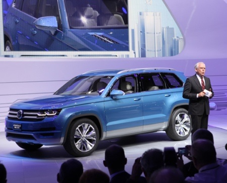 Volkswagen Cross Blue Concept