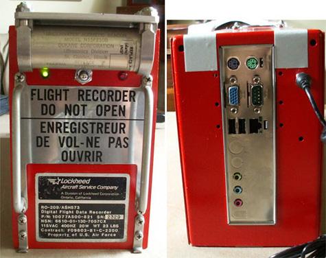 Flight Black Box Case Mod Gearfuse