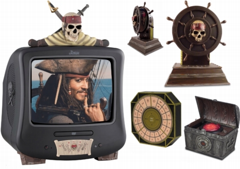 Tv Combo And Dvd Player For The Real Pirates Gearfuse