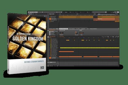 Native Instruments introduces Golden Kingdom Expansion Maschine