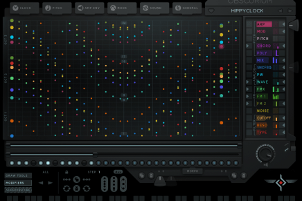 Sugar Bytes releases Obscurium – craziest synthesizer you ever tried