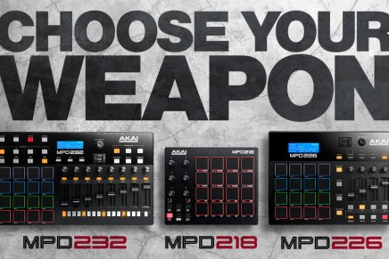 Introducing the Akai MPD2 Drum Pad Controllers