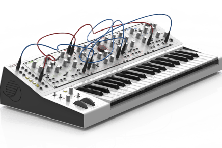 Waldorf shows the Eurorack Pack at The NAMM Show 2016