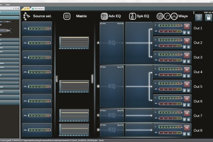Powersoft Announces New Armonía Pro Audio Suite 2.7.0 Release