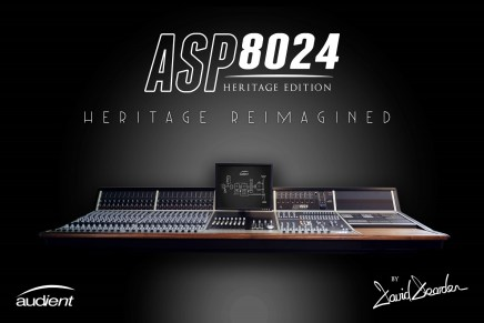 Audient Presents ASP8024 Heritage Edition Console
