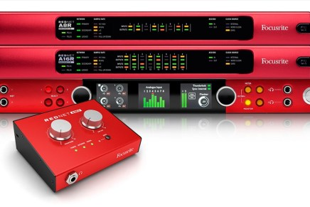 Focusrite shows new RedNet products at AES 2016