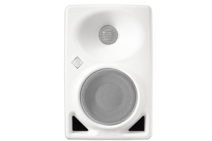 Neumann announces a new white version of the KH 80 DSP monitor loudspeaker