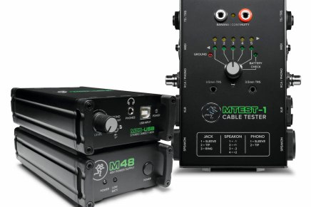 Mackie launches new line of audio tools