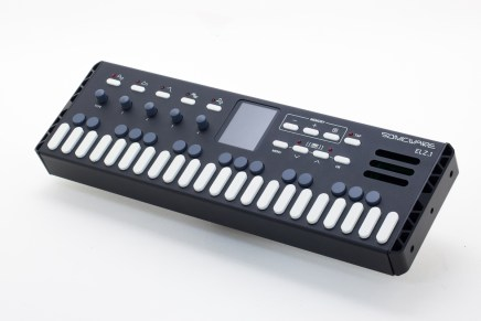 Sonicware announces the Gadget Synth ELZ_1 FM, 8-bit wave memory and granular synthesizer