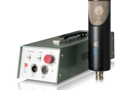 sE Electronics and Rupert Neve Designs announces the RNT multi-Pattern tube condenser microphone