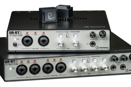 Steinberg announces UR-RT2 and UR-RT4 audio interfaces