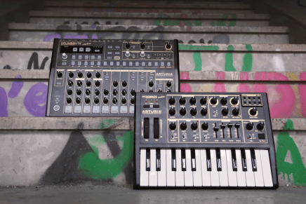 Arturia announcing the DrumBrute and MicroBrute creation limited edition