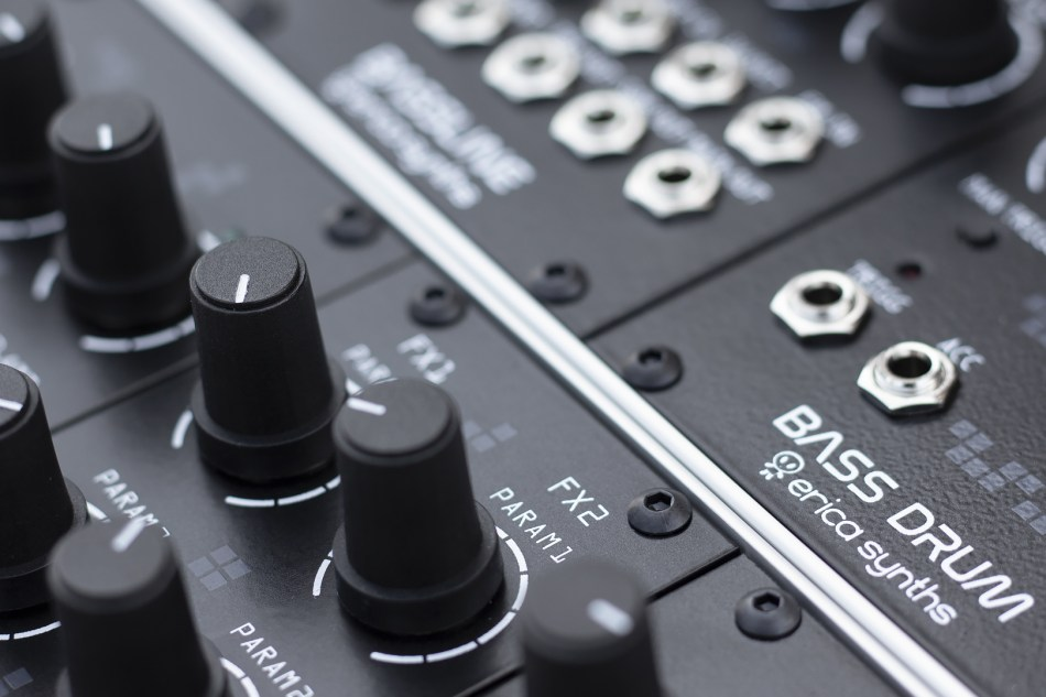 Erica Synths announces new drum series modules for Eurorack