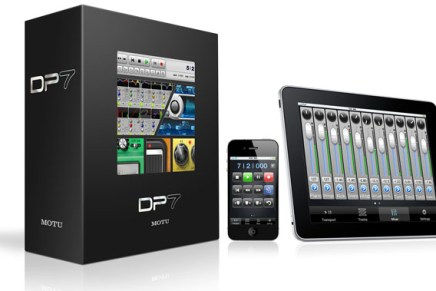 MOTU ships DP Control App for iPhone, iPad and iPod Touch