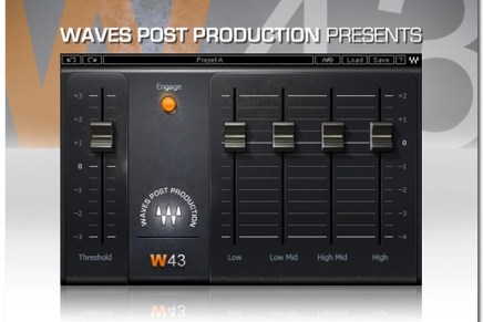 Waves Introduces W43 Noise Reduction Plugin