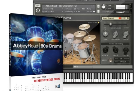 Native Instruments Introduces ABBEY ROAD 80s DRUMS