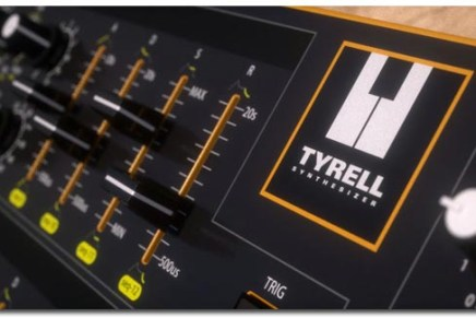 Amazona.DE unveils concept analog synth TYRELL