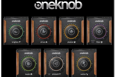 Waves Audio OneKnob Plugins released