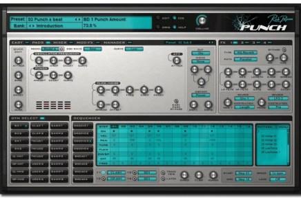 Rob Papen Punch 1.0.1 released – more presets, grooves and features