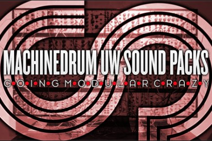 Three new Elektron Machinedrum UW Sound Packs – Free