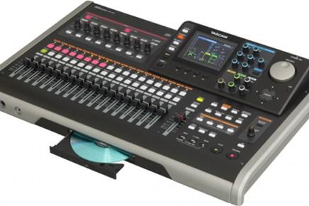 Tascam unveils DP-24 24 track Digital Portastudio